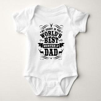 Min pappavärlds bäst jägare & pappa tshirts