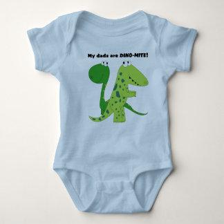Min pappor är DINO-MITE T-shirt