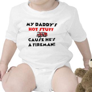 Min papporhettsaker, därför att han är en brandman tee
