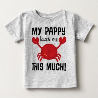 Min Pappy älskar mig denna mycket barnbarnT-tröja Tröja