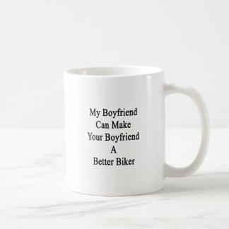 Min pojkvän kan göra din pojkvän en bättre cykel kaffemugg