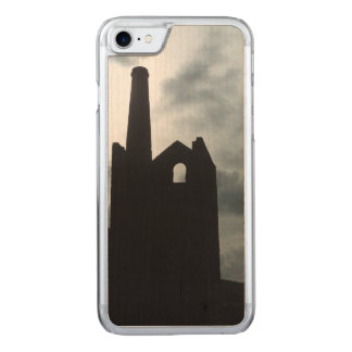 Min Poldark land fördärvar Cornwall England Carved iPhone 7 Skal