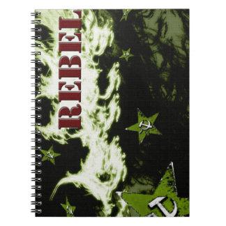 Min rebell! spiral anteckningsböcker