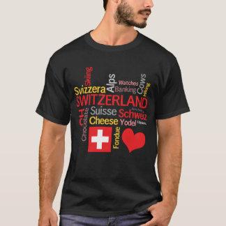 Min roliga favorit- schweiziska saker tee shirt