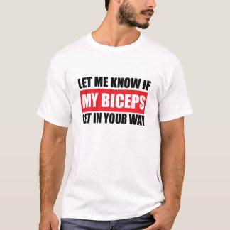 Min roliga konditionT-tröja för Biceps Tröja