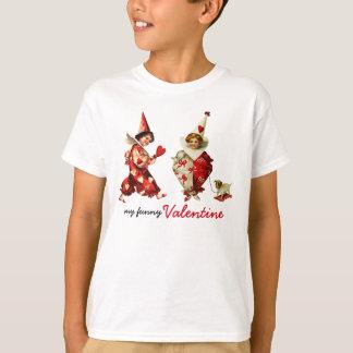 Min roliga valentin. Gåvaunge T-tröja T-shirt