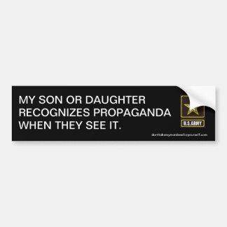 Min son eller dotter känner igen propaganda bildekaler