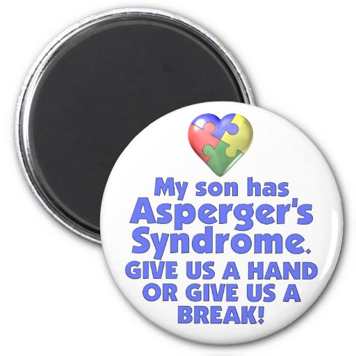 Min Son har Aspergers Kylskåpmagneter