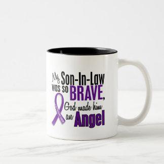 Min Son-I-Lag är en bukspottkörtel- cancer för Två-Tonad Mugg