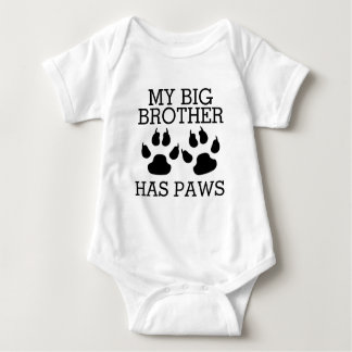 Min storebror har tassar t-shirts