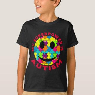 Min Superpower är Autism! T-shirts