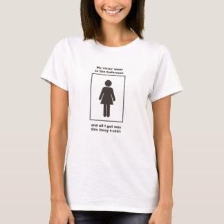 Min syster gick till badrummen tröjor