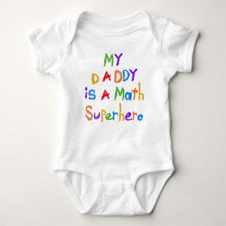 Min T-tröja och gåvor för pappaMathSuperhero T-shirt