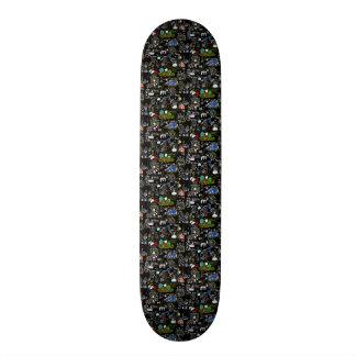 Min town old school skateboard bräda 18 cm