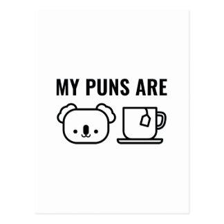 Min vitsar är vykort