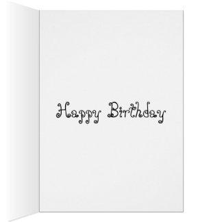 Min wish för födelsedag för OBS kort