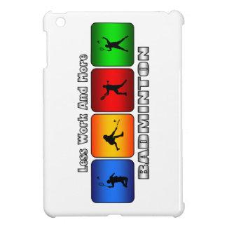 Mindre arbete och mer Badminton kortkortfodral för iPad Mini Mobil Fodral
