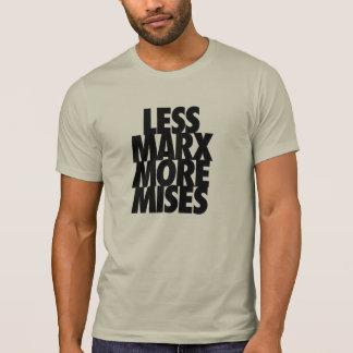 Mindre Marx mer Mises T Shirt