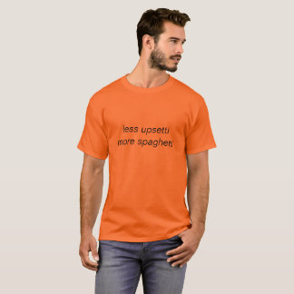mindre upsetti mer spagetti tröja