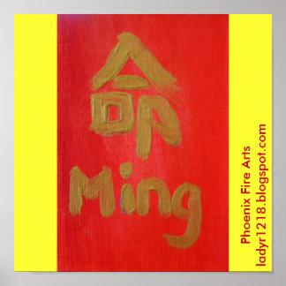 Ming (öde) poster