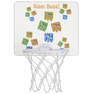 Mini- basketbollmål Mini-Basketkorg