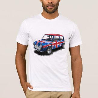 Mini- bil för facklig jackklassiker på vitT-tröja Tshirts