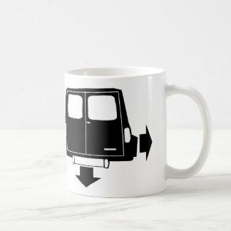 Mini- Clubmangods & Skåpbil Låg och bred mugg