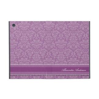 Mini- fodral för elegant damastast iPad (lilor) iPad Mini Skydd