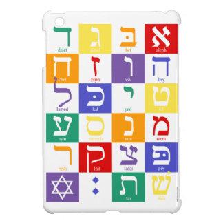 Mini- iPadfodral för hebréiskt alfabet iPad Mini Mobil Fodral