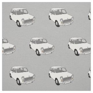 Mini- kammad bomull för bil tyg vid Rupert &