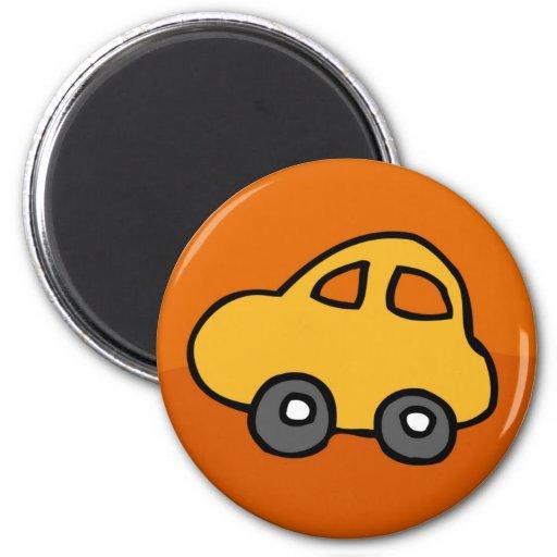 Mini- mini- bil magnet för kylskåp