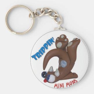 "Mini- Mons ""Trippin"" nyckelring"