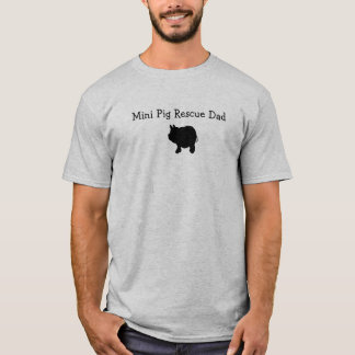 Mini- T-tröja för grisräddingpappa Tee Shirts