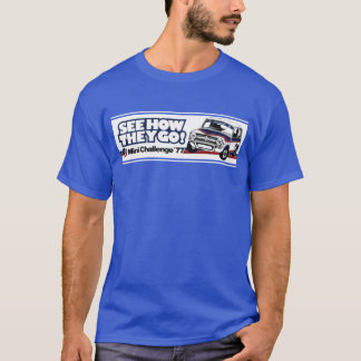 Mini- tävla 1275GT för klassiker T Shirts