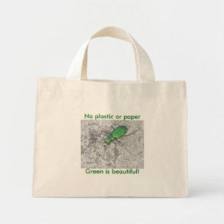 Mini- toto för grön tigerskalbagge mini tygkasse