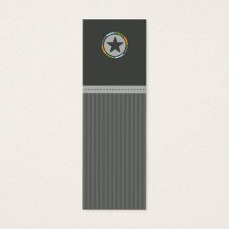 MINI- VISITKORT:: lonestar 1 Litet Visitkort