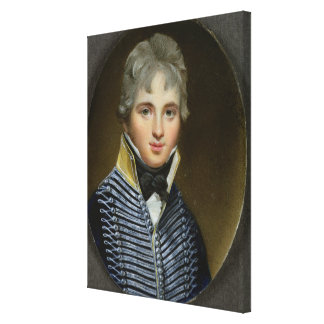 Miniatyr av William Howe de Lancey (d.1815), maj Canvastryck