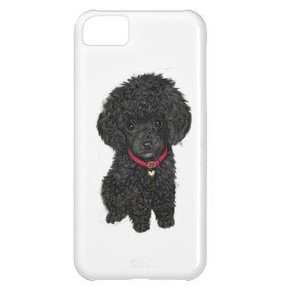 Miniatyr- eller leksakpudel - svart 1 iPhone 5C fodral
