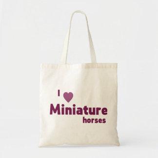 Miniatyrhästar Tygkasse