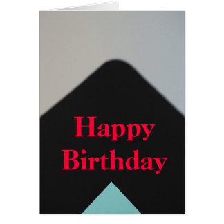 Minimalist grattis på födelsedagen hälsningskort