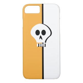 Minimalist Halloween skalledesign för iphone 7