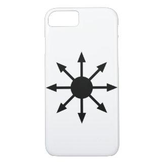 Minimalist kaosstjärnaiphone case