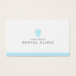 Minimalist tand- kliniktandläkare visitkort