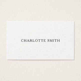 Minimalist yrkesmässiga moderna visitkortar visitkort