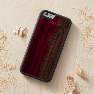 minimalistic rosor målar handfatet målas carved valnöt iPhone 6 bumper skal