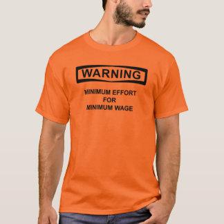 minimum timpenning A Tshirts