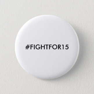 Minimum timpenning #FIGHTFOR15 Standard Knapp Rund 5.7 Cm
