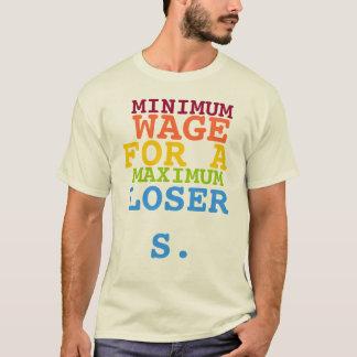 Minimum timpenning för ett maximum förlorare tshirts