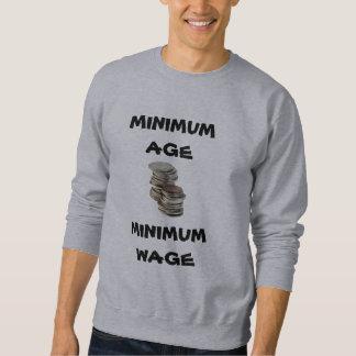Minimum timpenning för minimum Ålder - tröja
