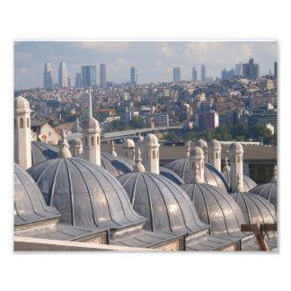 Minne av Istanbul, Soleymaniye moské Fototryck